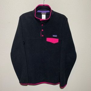 PATAGONIA Womens Large Synchilla SnapT Fleece